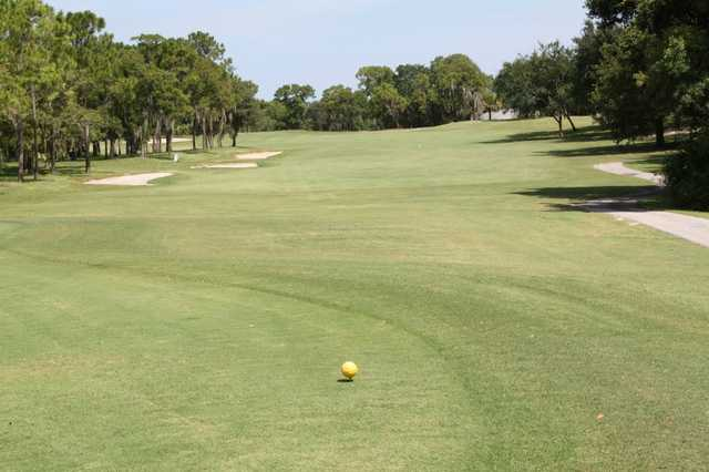 A view from a tee at Beacon Woods Golf Club