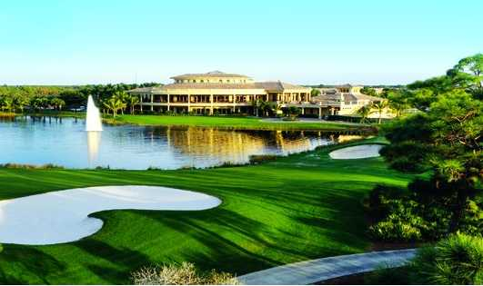 A view of the clubhouse at Colony Golf & Country Club