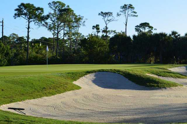 A view of green #3 at Colony Golf & Country Club.