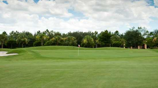 A view of the 1st hole at Vasari Country Club