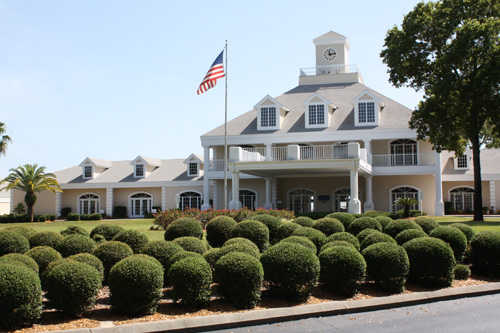 A view of the clubhouse at Links Golf Club