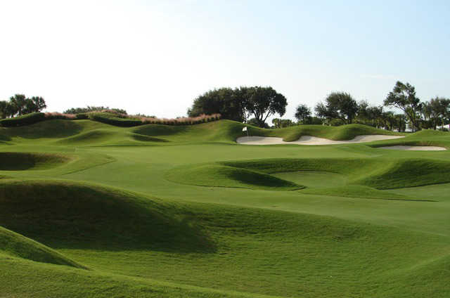 A view from a fairway at Admiral's Cove