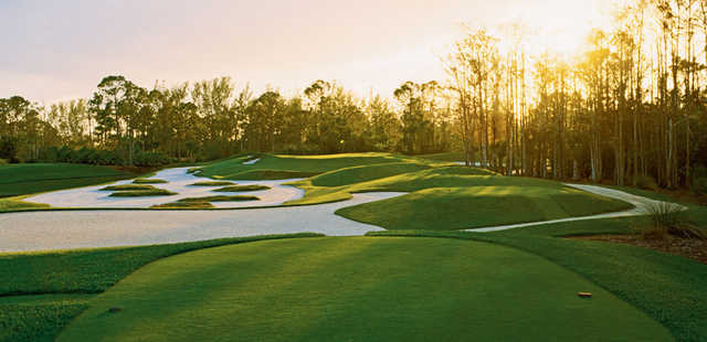 A view from tee #13 at Dye Preserve Golf Club