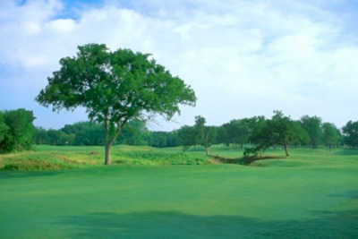 A view of fairway #14 at Hidden Creek Golf Club