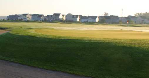 A view of a green at Falcon Golf Course