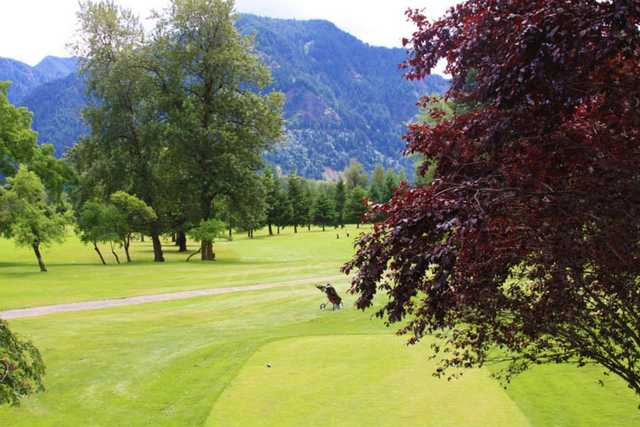 A view from a tee at Beacon Rock Golf