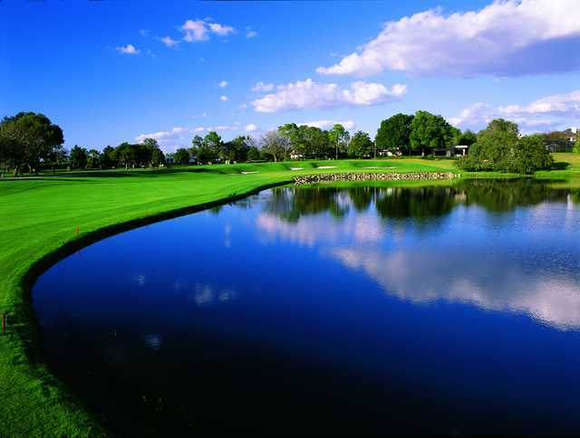 Bay Hill: View from the 18th hole