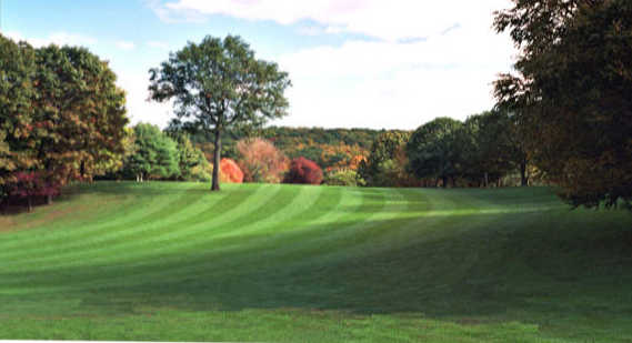 A view of a fairway at Portland Golf Course