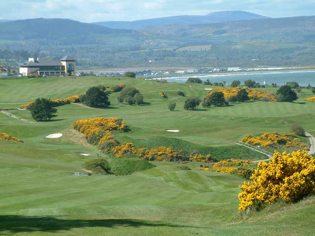 A view from fairway #16 at Wicklow Golf Club