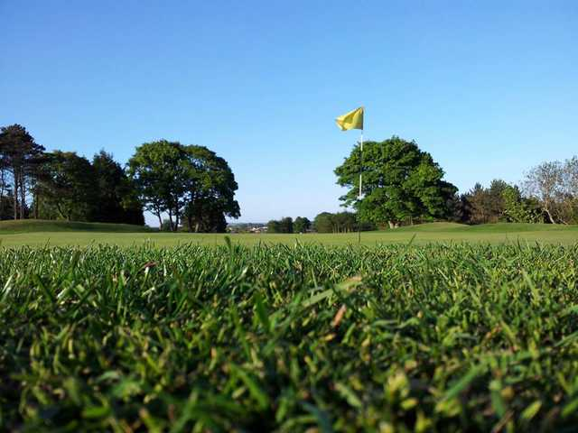 A view of a green at St. Patrick's Golf Club