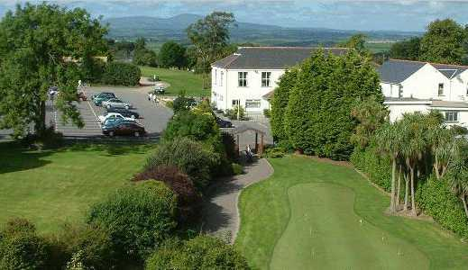 A view of the clubhouse at St. Patrick's Golf Club