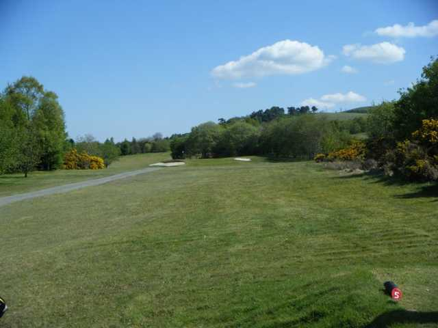 A view from tee #5 at Vale of Leven Golf Club