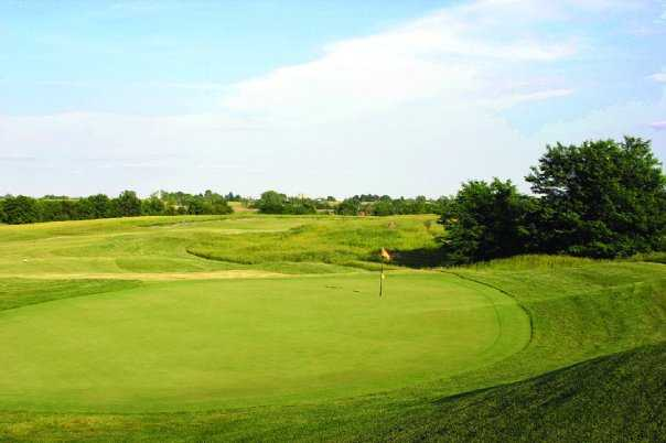 A view of hole #11 at Falcon Lakes Golf Course