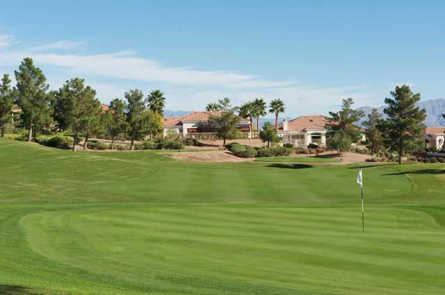 A view of a hole at Eagle Crest Course from Golf Summerlin