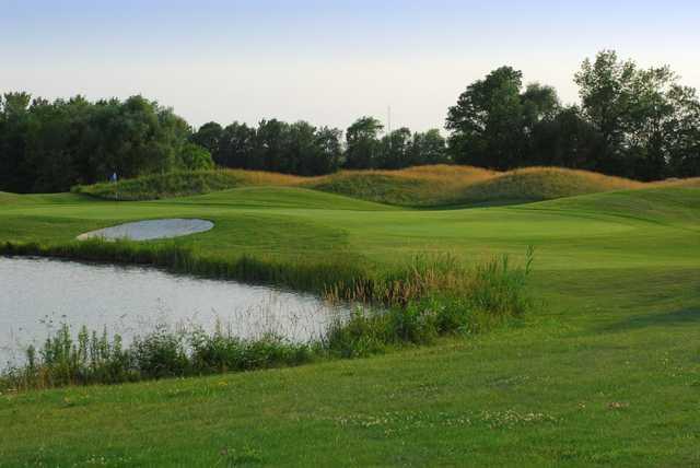 A view from a fairway at Royal Niagara Golf Club