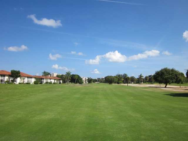 An October view from Ocean Breeze Golf & Country Club