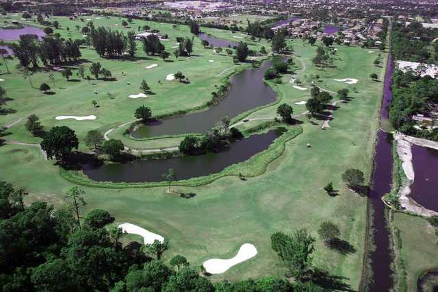 Aerial view from The Links At Boynton Beach
