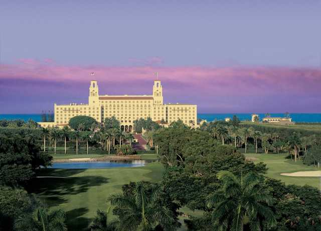 A view from Ocean Course at The Breakers