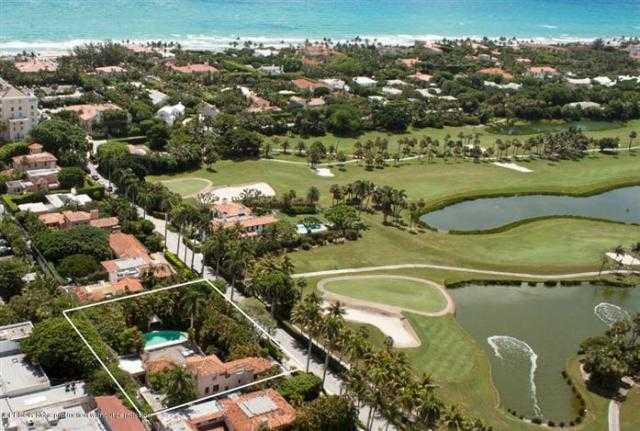 Aerial view from Everglades Golf Course