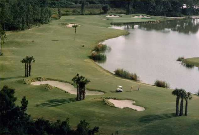 A view of a fairway at Aberdeen Golf & Country Club