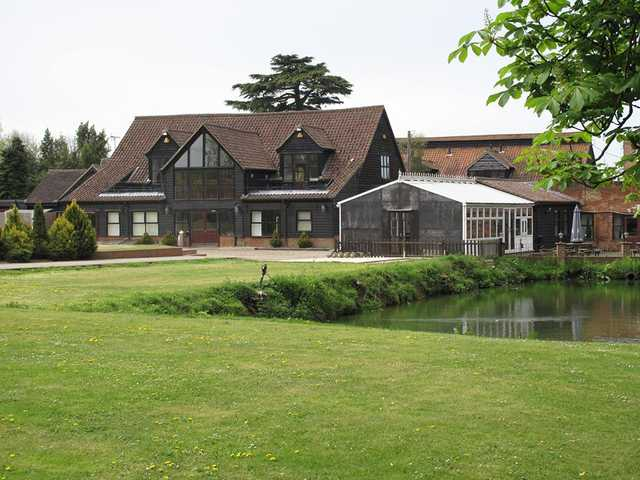 A view of the clubhouse at Brentwood Golf Club