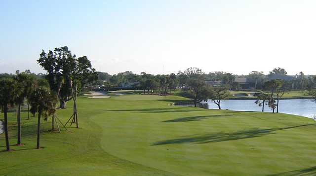 A view of a fairway at Turtle Creek Club