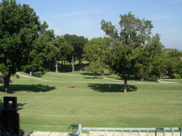 A view of the 2nd hole at Lakeside Village Golf Course