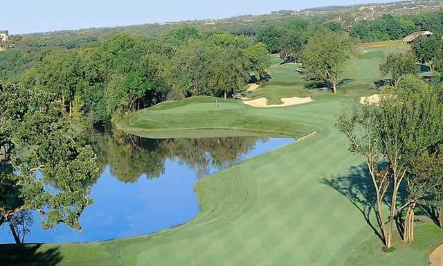 A view of a fairway at Sky Creek Ranch Golf Club