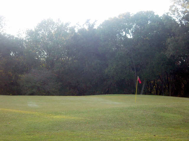 A view of green #12 at Eagle Rock Golf Club