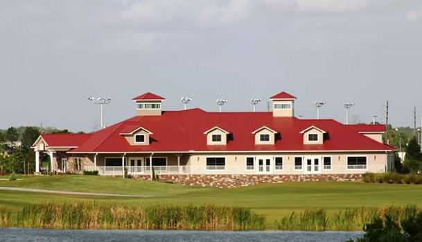 Royal St. Cloud Golf Links - Clubhouse View