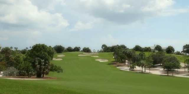 A view of a fairway at Jupiter Hills Club