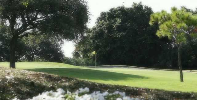 A view of a green at Jupiter Hills Club