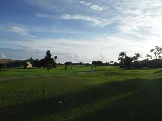 A view from a tee at Hobe Sound Golf Club