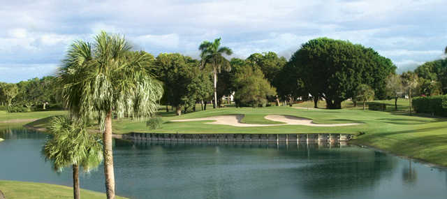 A view over the water from Via Mizner Golf & City Club.