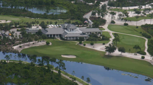 Aerial view from McArthur Golf Club