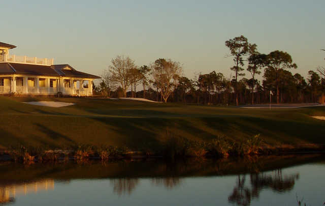 A view over the water from McArthur Golf Club
