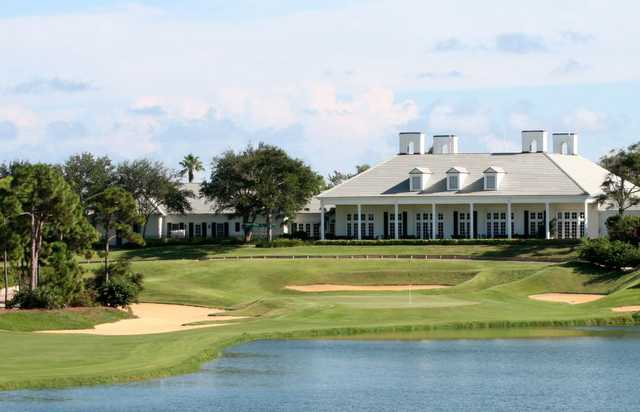 A view over the water from Loblolly Pines Golf Course