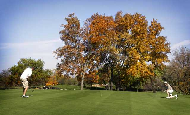 A fall view from Grand Geneva Resort