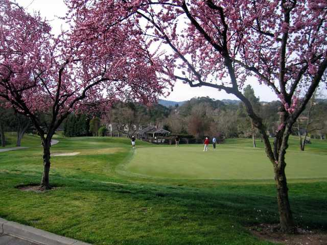 A spring view from Round Hill Golf & Country Club