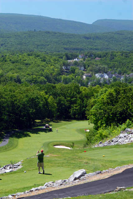 A view from Country Club of the Poconos Municipal Golf Course