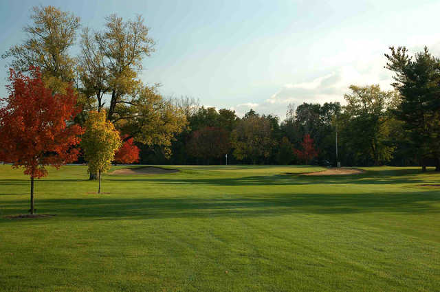 View of a green from West Lafayette Golf & Country Club