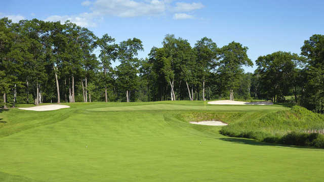 View of a green at Cossett Creek Golf Club