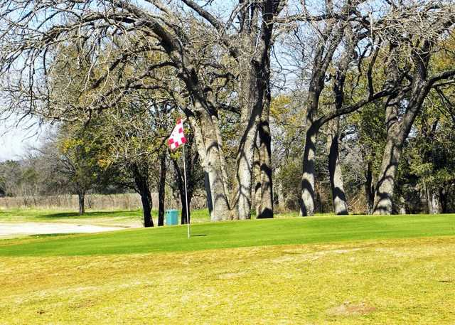 A view green #1 at Bosque Valley Golf Course
