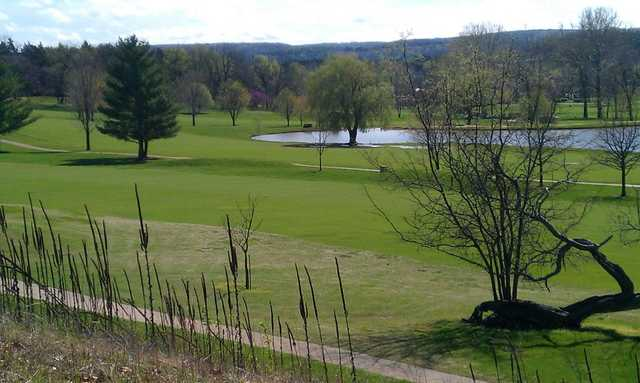 A view from Lake Valley Country Club