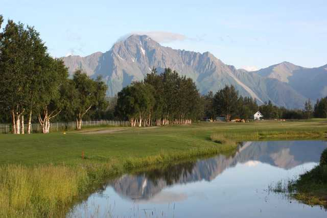 A view of a tee at Palmer Golf Course