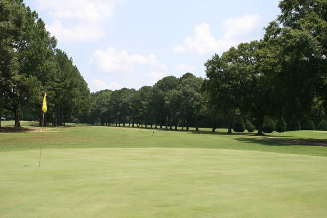 A view of hole #14 at Trussville Country Club