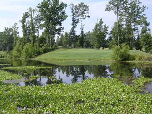 A view over the water from Magnolia Meadows Golf Course
