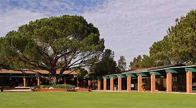 A view from Encino at Sepulveda Golf Complex.