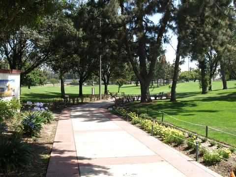 A view from Bell Gardens Golf Course