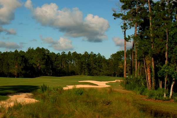 A view of a fairway at Grand Club Pine Lakes Course
